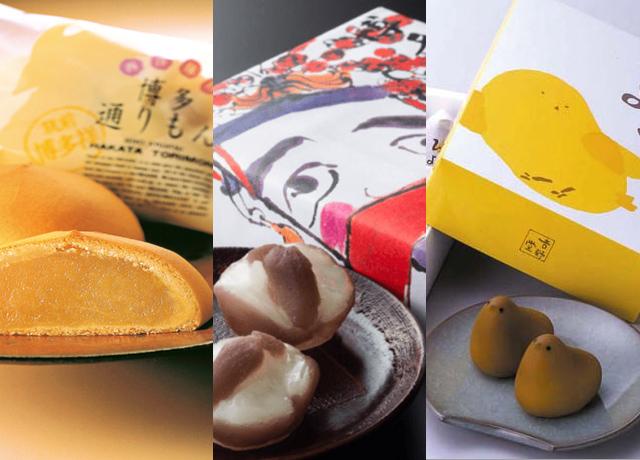 九州を代表する銘菓や九州限定のお菓子の写真