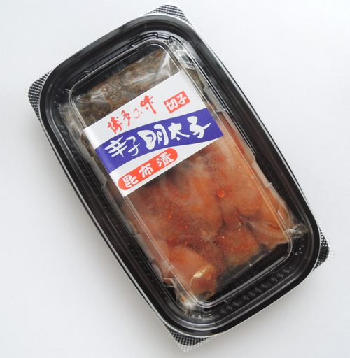パッケージ西昆 徳用昆布漬辛子明太子